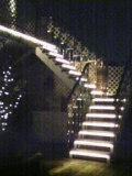 ホテル屋上への階段