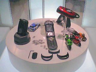 G'z One Type-R展示の全景